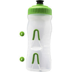 Fabric Cageless Bidon 600ml, green